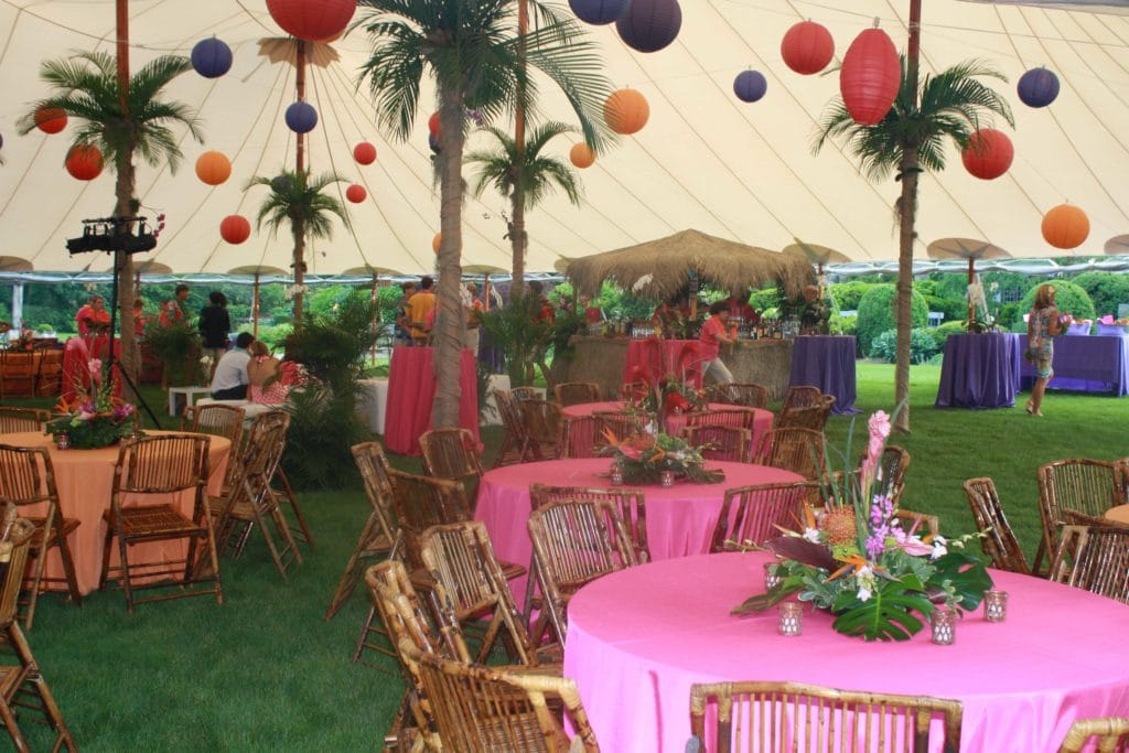 Luau Themed Party