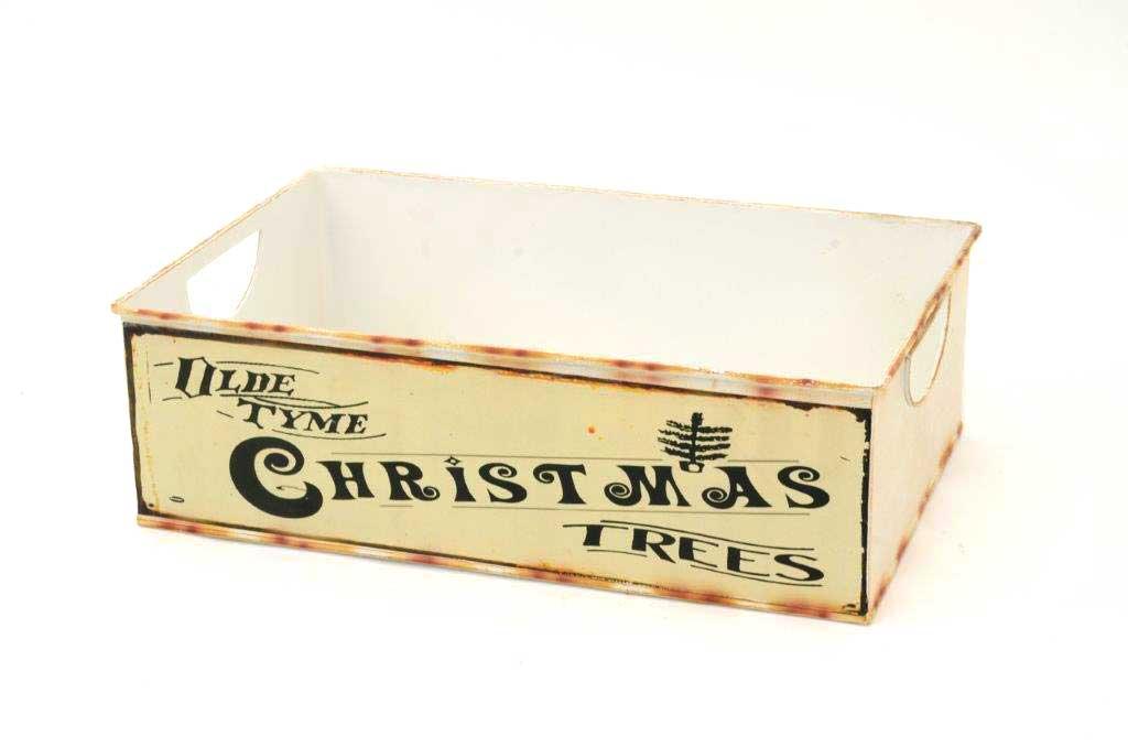 metal christmas box