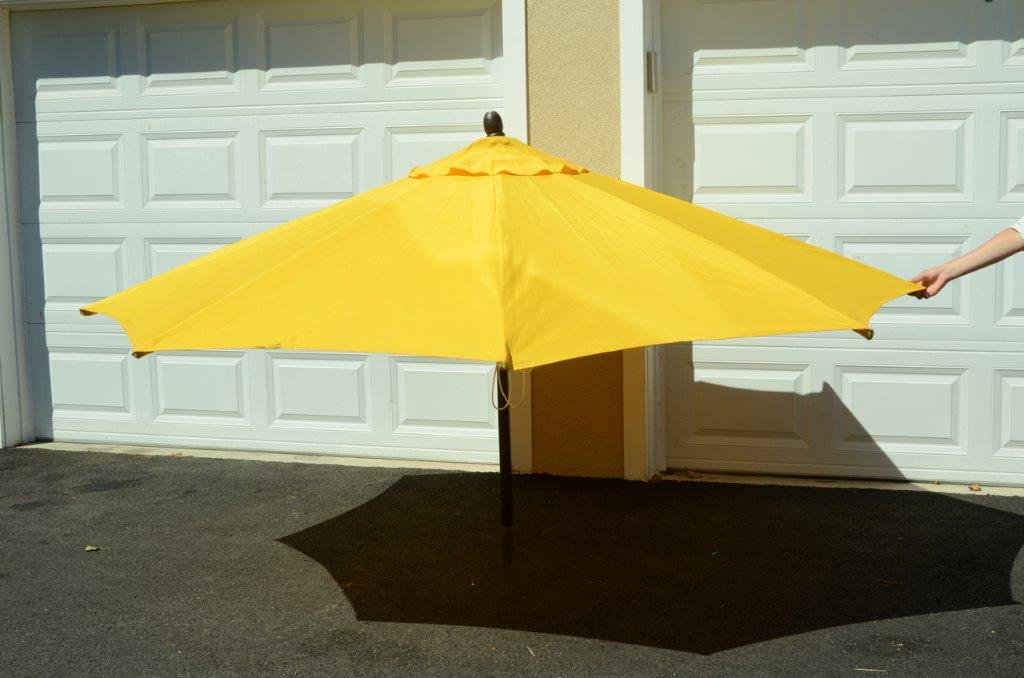 Patio Umbrella Yellow