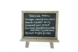 chalkboard stand