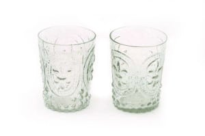 french glass vases