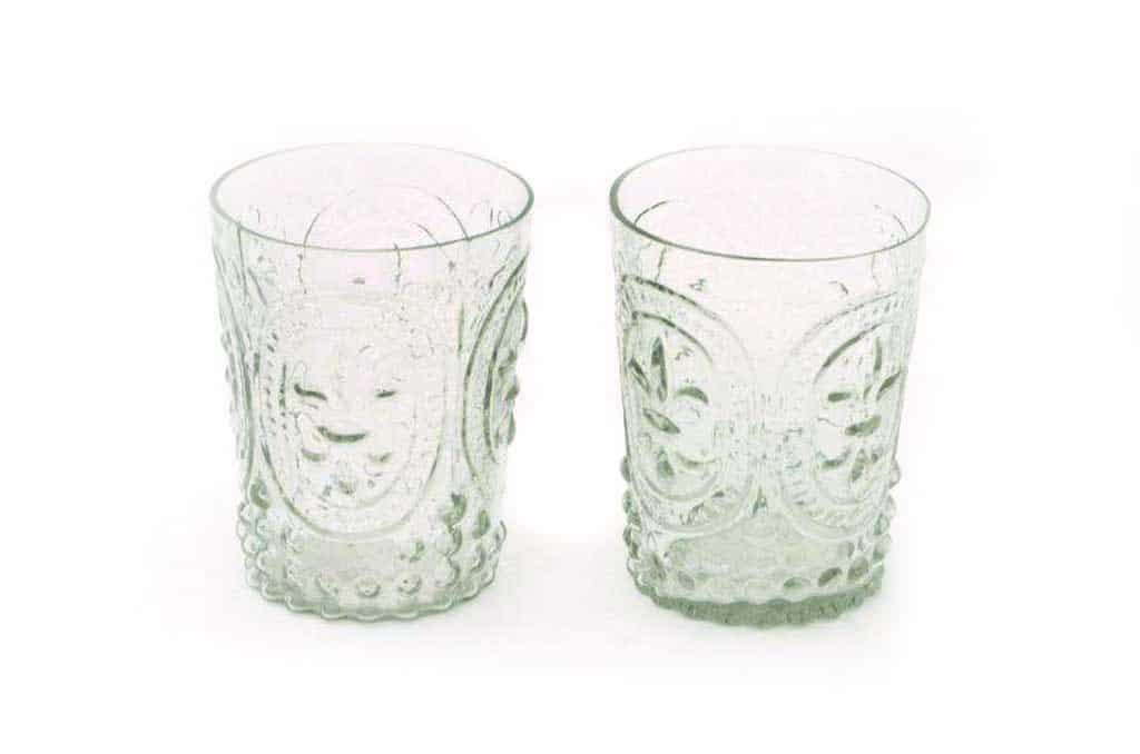 french glass vases