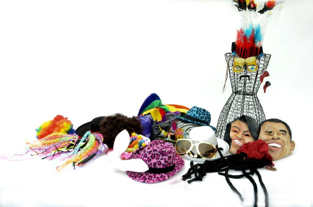 88 costume hats assorted
