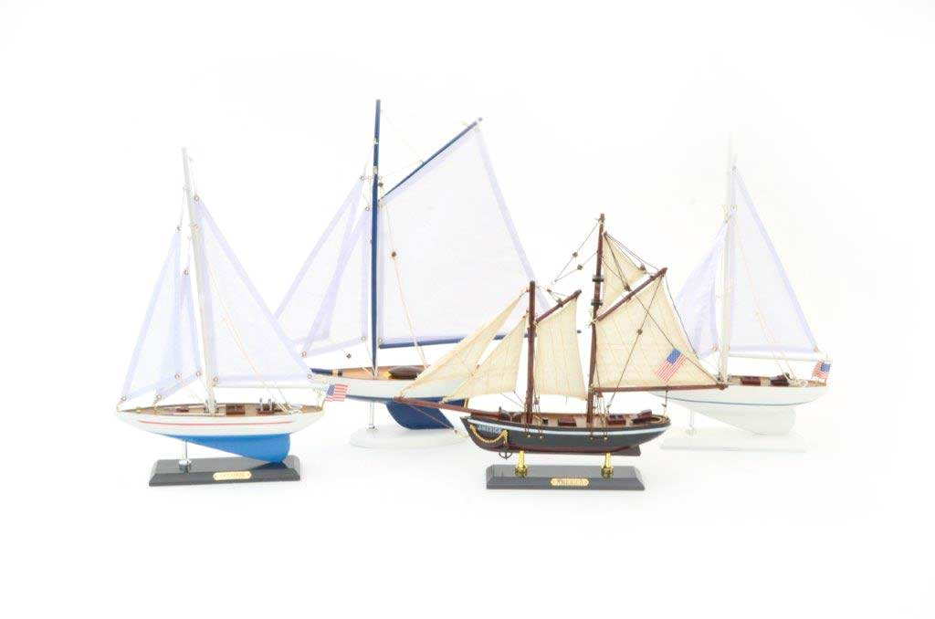 sailboat centerpieces
