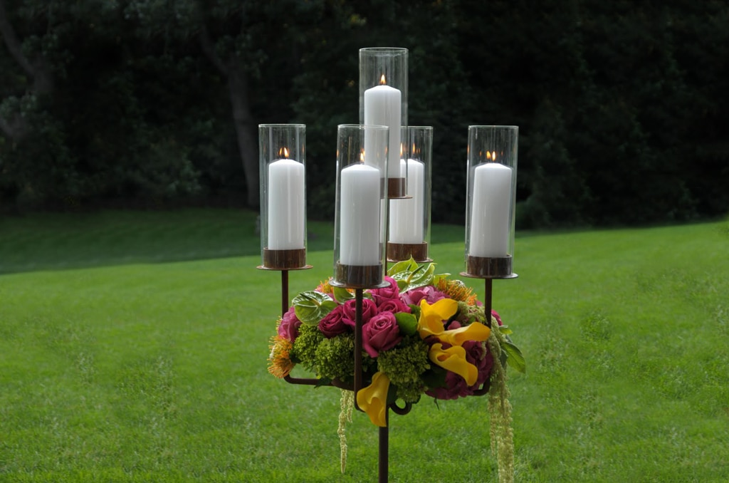 Candelabra center piece