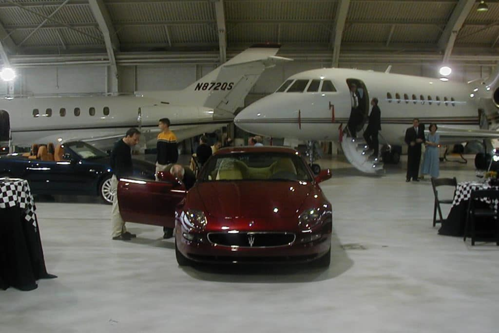 Westchester County Airport hangar