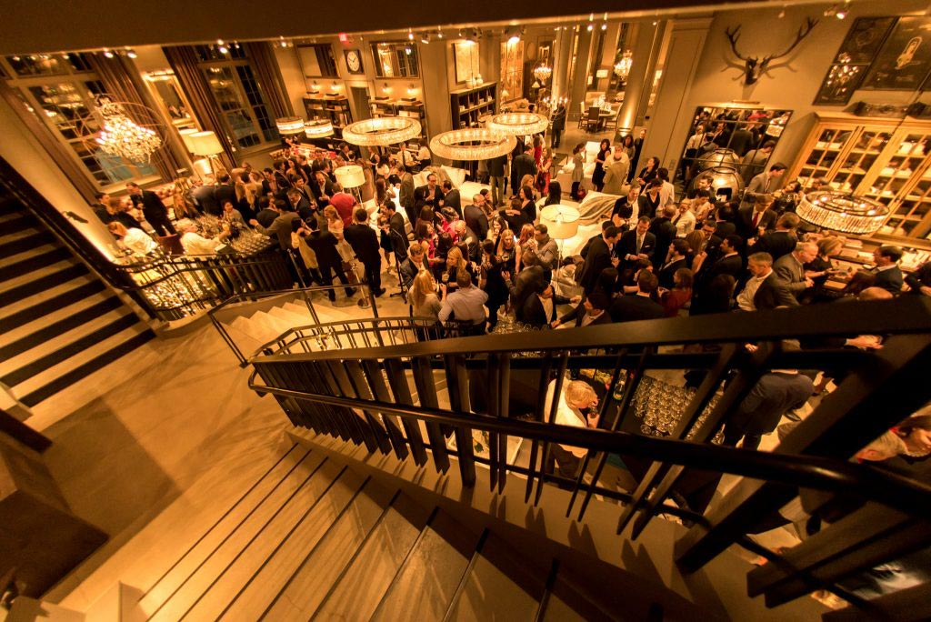 Corporate event at Restoration Hardware